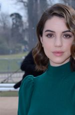 Adelaide Kane Attends the Beautiful People show during the Paris Fashion Week Womenswear Fall/Winter 2018/2019
