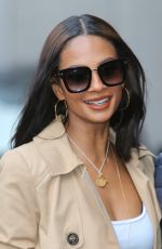 Alesha Dixon Spotted At The ITV Studios in London