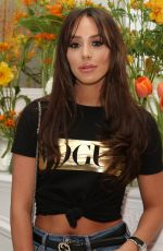 Amber Dowding At Murad Skincare Launch Party at Ice Tank in Central London