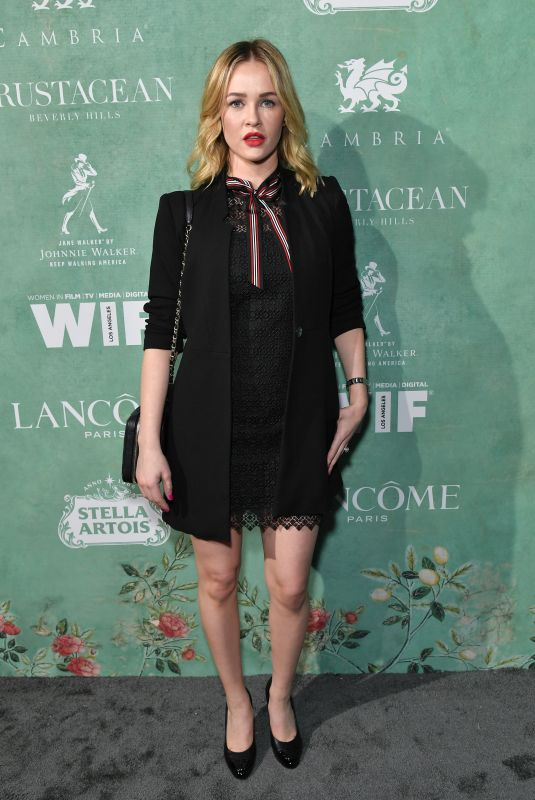 Ambyr Childers At 11th Annual Women In Film Pre-Oscar Cocktail Party presented by Max Mara and BMW at Crustacean Beverly Hills in Beverly Hills