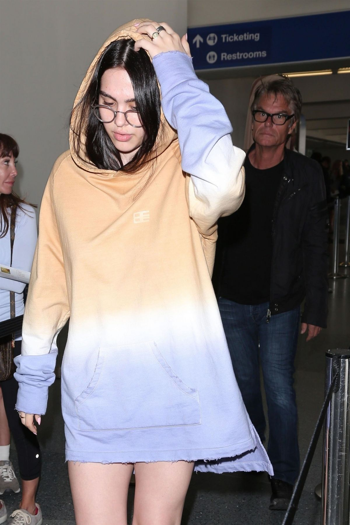Amelia Gray Hamlin Seen at the LAX airport in Los Angeles
