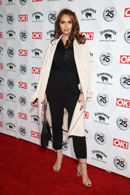 Amy Childs Attends the OK! Magazine