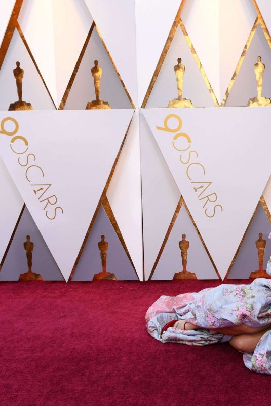 Andra Day At the 90th Annual Academy Awards in Hollywood