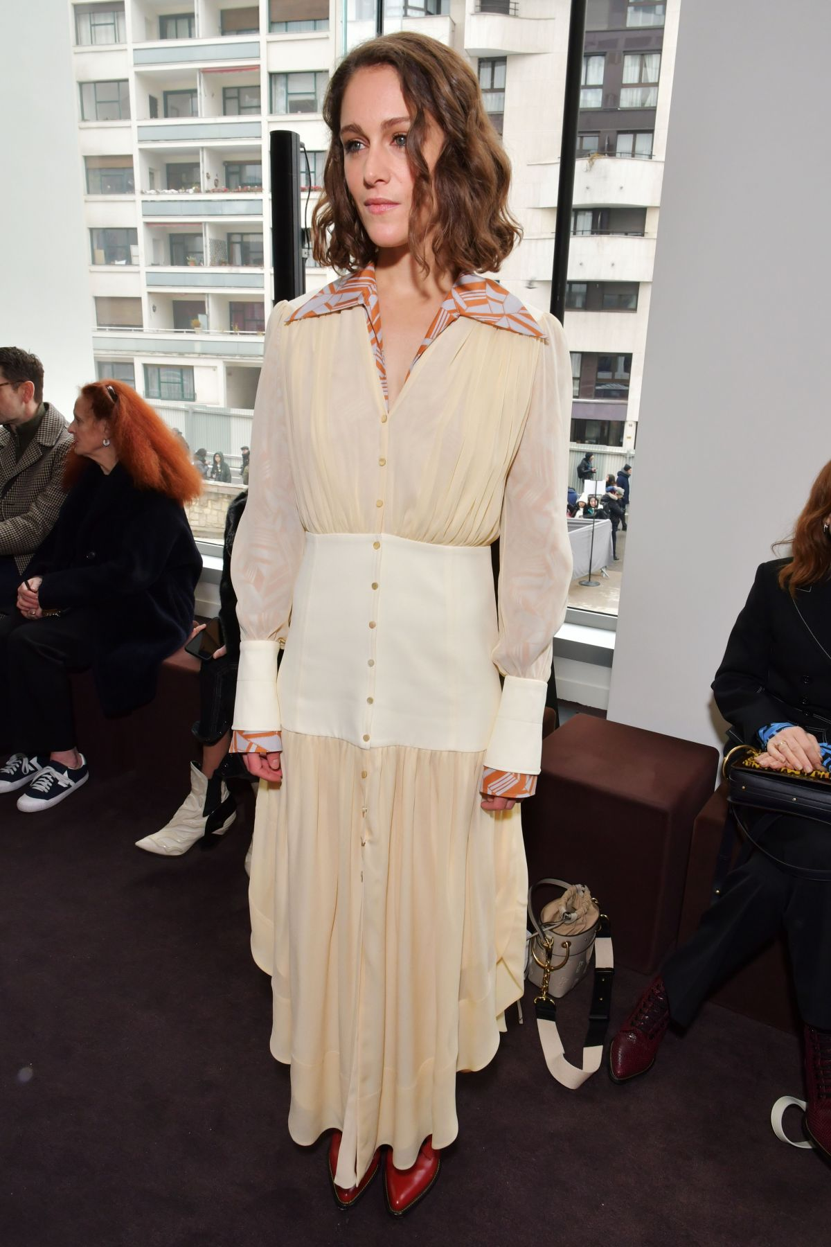 Ariane Labed At Chloe Show Front Row Fall Winter 2018