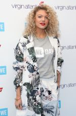 Becca Dudley At WE Day, Wembley Arena, London, UK