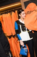 Bella Hadid At Chrome Hearts x Off-White Event at Chrome Hearts Store, in Paris