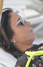 Bethenny Frankel Seen on the beach in Miami