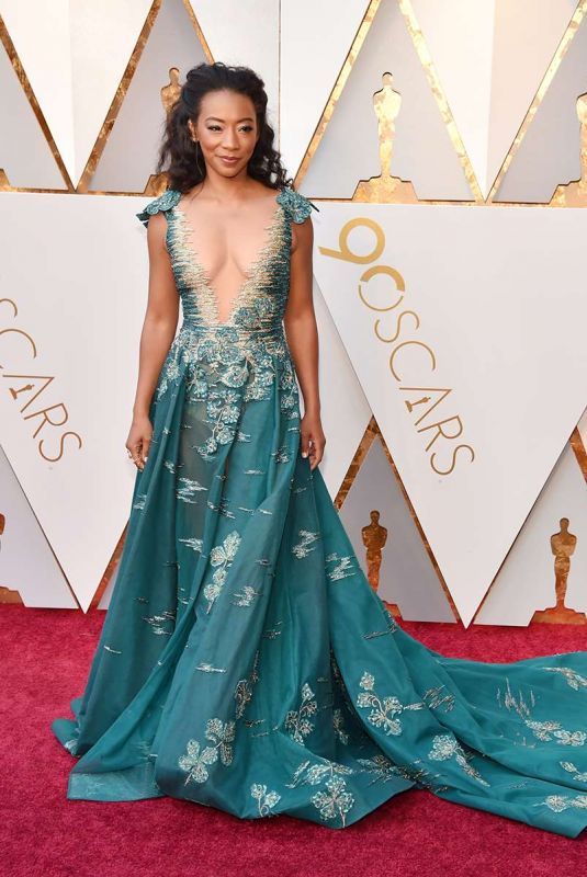 Betty Gabriel At the 90th Annual Academy Awards in Hollywood