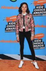 Breanna Yde At 31st Annual Nickelodeon Kids