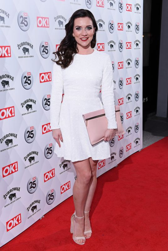 Candice Brown Attends the OK! Magazine