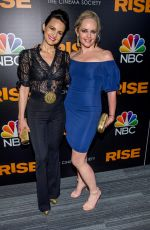 Carla Gugino At Rise premiere in New York