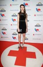 Casey Burke At Red Cross Los Angeles 2nd Annual Humanitarian Awards ceremony in Los Angeles
