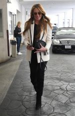 Cat Deeley Seen leaving E Baldi restaurant after having lunch with her husband in Beverly Hills