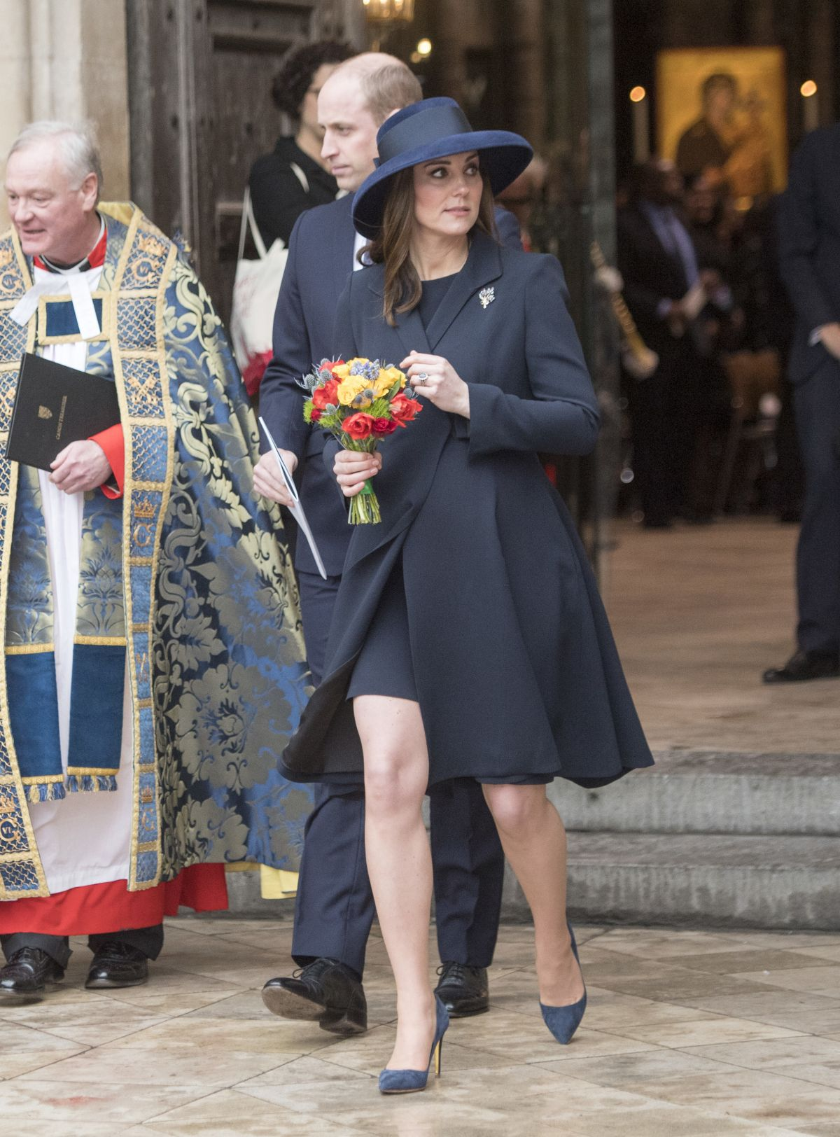 Duchess Of Westminster At Royal Wedding