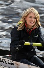 Charlotte Hawkins, Ferne McCann & Nicola Thorp At Sport Relief Rowing in Manchester