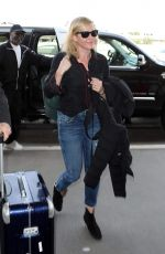 Chelsea Handler Catching a flight out of LAX Airport in Los Angeles