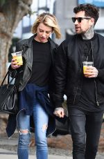 Chelsea Kane and Graham Nation Enjoy a Romantic Juice Break on his Birthday in Los Angeles