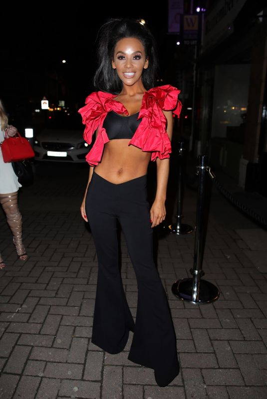 Chelsee Healey At Club Arvina Nightclub in Cheshire