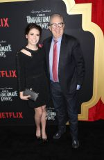Chloe Sonnenfeld At A Series of Unfortunate Events Premiere, New York