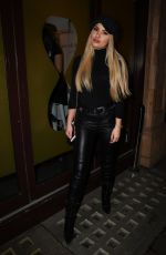 Chyna Ellis At Murad Skincare Launch Party at Ice Tank in Central London