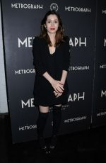 Cristin Milioti At Metrograph 2nd Anniversary Party, New York
