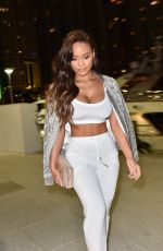 Daphne Joy Out for Dinner in Miami