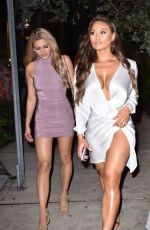 Daphne Joy Went out for dinner at Kiki on the River in Miami