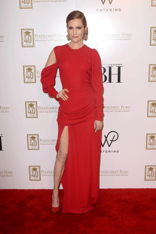 Darby Stanchfield At a legacy of changing lives gala, LA