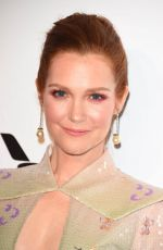 Darby Stanchfield At Elton John AIDS Foundation Academy Awards Viewing Party, Los Angeles