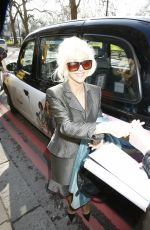 Debbie McGee Arrives at the TRIC Awards, Grosvenor House, London