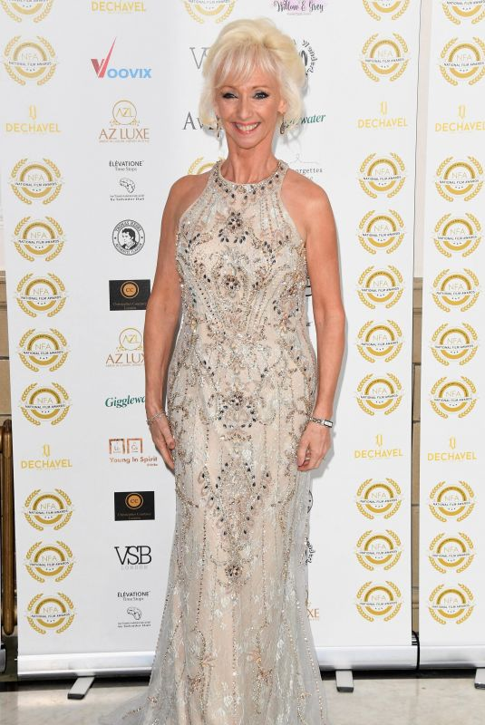 Debbie McGee At National Film Awards in London