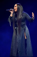 Demi Lovato At Tell Me You Love Me Tour at the American Airlines Arena in Miami