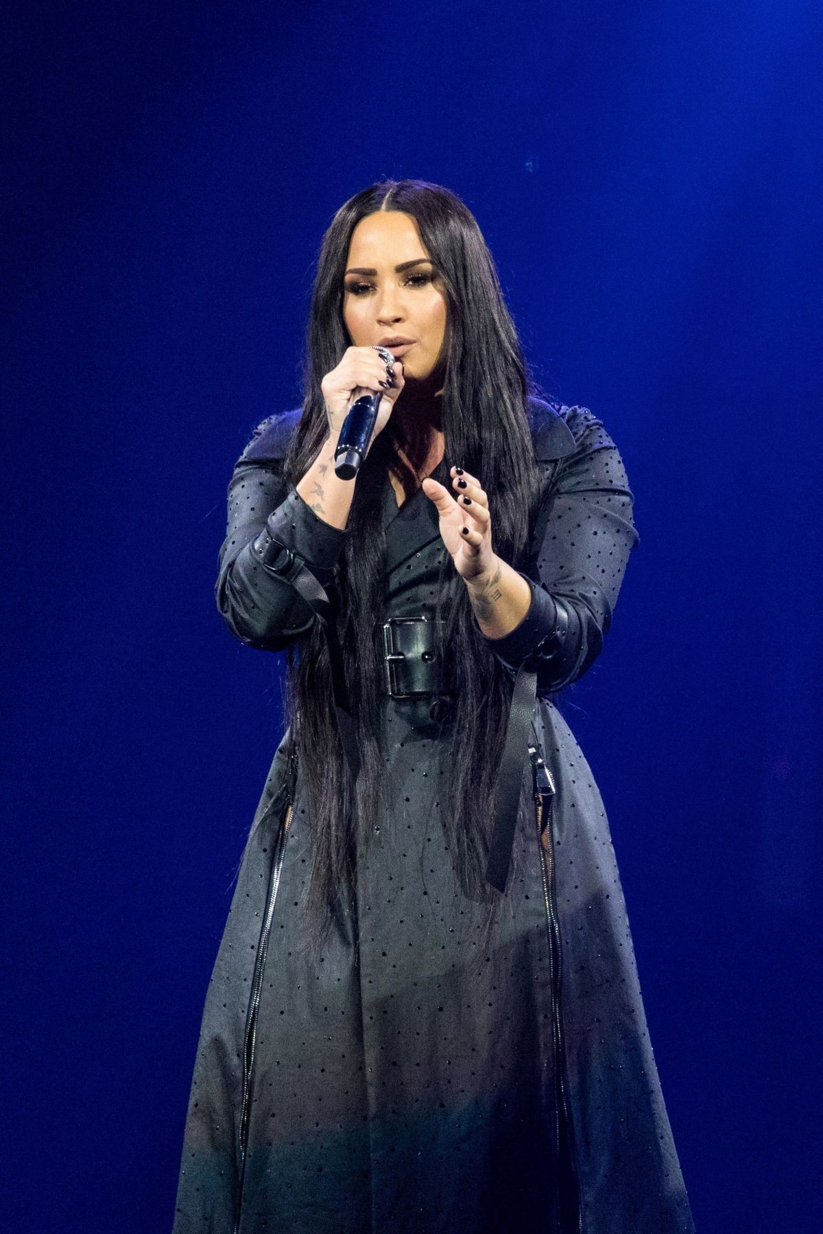Demi Lovato At Tell Me You Love Me Tour At The Target Center On In Minneapolis Celebzz Celebzz