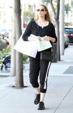 Elizabeth Berkley Was spotted while out for a shopping trip in Los Angeles