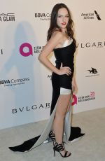 Emanuela Postacchini At Elton John AIDS Foundation Academy Awards Viewing Party, Los Angeles