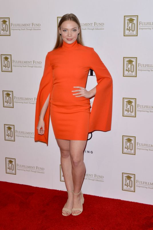 Emilia McCarthy At A Legacy of Changing Lives Gala, Los Angeles