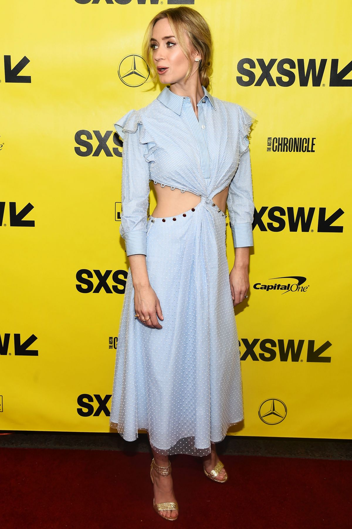 Emily Blunt At 'A Quiet Place' premiere at SXSW in Austin ...