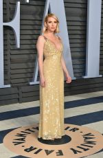 Emma Roberts At 2018 Vanity Fair Oscar Party in Beverly Hills