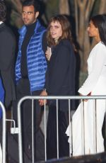 Emma Watson Exits the Vanity Fair Oscar Party in Beverly Hills
