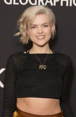 Erin Richards At National Geographic world premiere screening of One Strange Rock at Alice Tully Hall, NYC