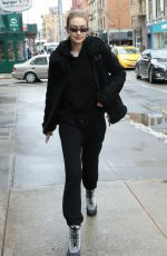 Gigi Hadid Spotted out shopping with a friend at Murray