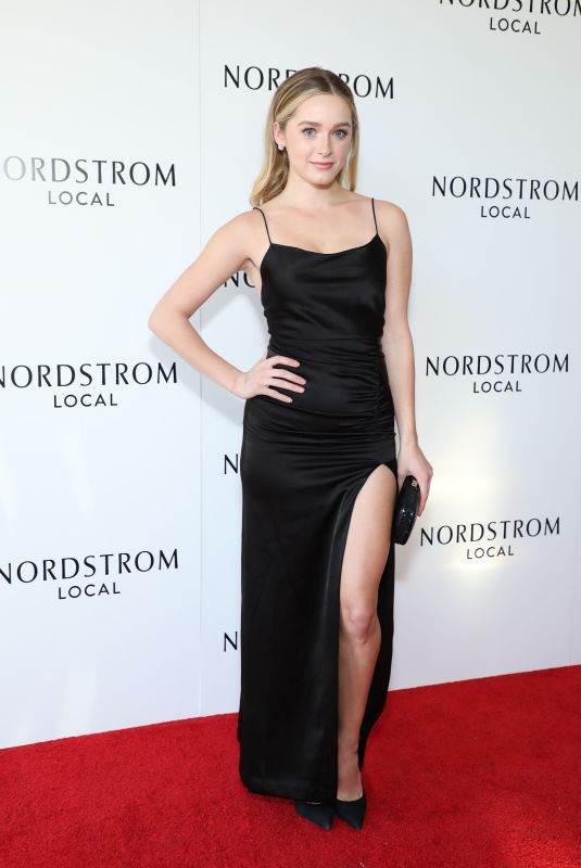 Greer Grammer At Nordstrom Oscar Party in Los Angeles