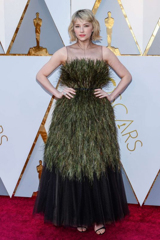 Haley Bennett At The 90th Annual Academy Awards in LA