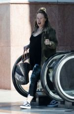 Haylie Duff Leaves a pilates class in L.A.