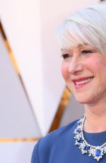Helen Mirren Attends the 90th Annual Academy Awards in Los Angeles