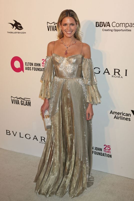 Helena Bordon At 26th annual Elton John AIDS Foundation Academy Awards Viewing Party sponsored by Bulgari in West Hollywood