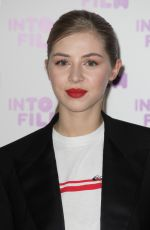 Hermione Corfield At Into Film Awards, London, UK