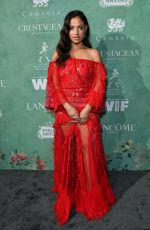 Inanna Sarkis At 11th Annual Women In Film Pre-Oscar Cocktail Party presented by Max Mara and BMW at Crustacean Beverly Hills in Beverly Hills