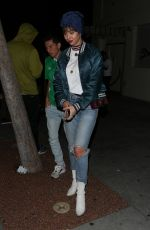 Jackie Cruz Keeps it cute at Delilah in West Hollywood