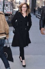 Jenna Fischer Seen at BUILD Series in NYC